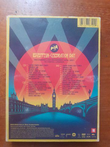 Led Zeppelin Celebration Day Box com 2 Cds e 1 Dvd + Encarte - Foto 2