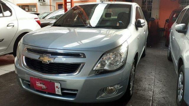 15- Chevrolet Cobalt LS 1.4 8V Flex 2012 Parcelas de R$699 - Foto 3