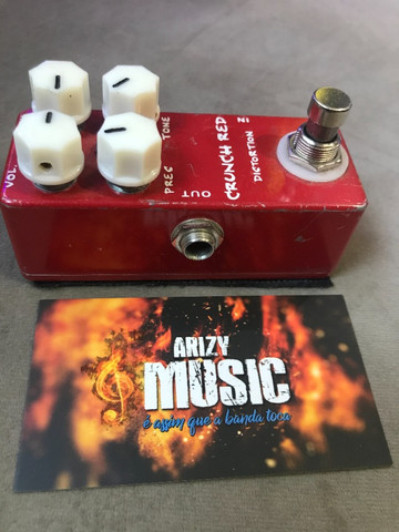 Pedal Mosky Crunch Red Distortion (Mi Crunch) - Arizy Music - Foto 2