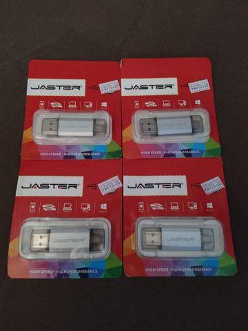 PENDRIVE JASTER 64GB TYPE C / USB - Foto 3