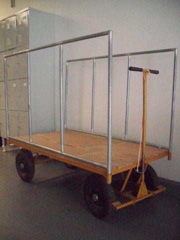 Carrinho de transporte 04 rodas - Foto 2