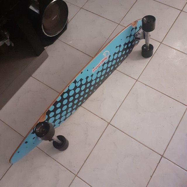 Vendo longboard novíssimo