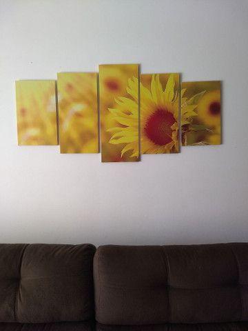 Quadro decorativo 5 peças.
