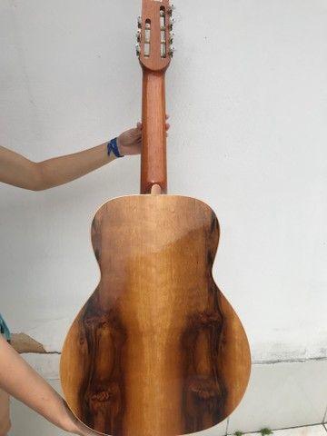 Violão 7 cordas bem novinho  - Foto 3
