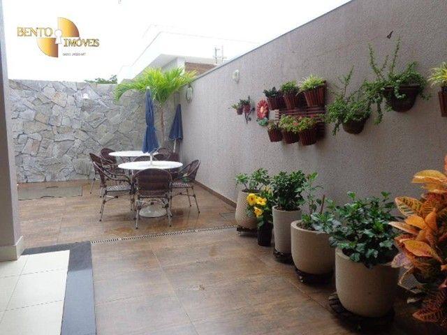 Casa com 5 dormitórios à venda, 490 m² por R$ 2.200.000,00 - Condomínio Florais Cuiabá Res - Foto 13