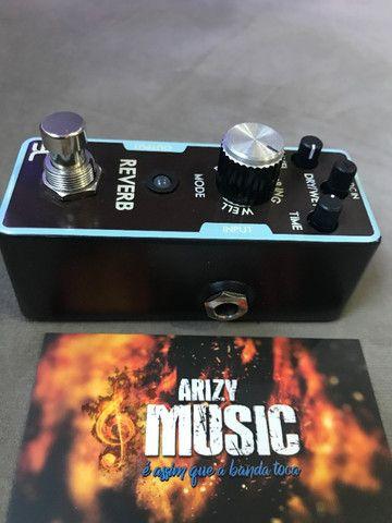 Pedal Reverb Eno Mini True Bypass - Arizy Music - Foto 4