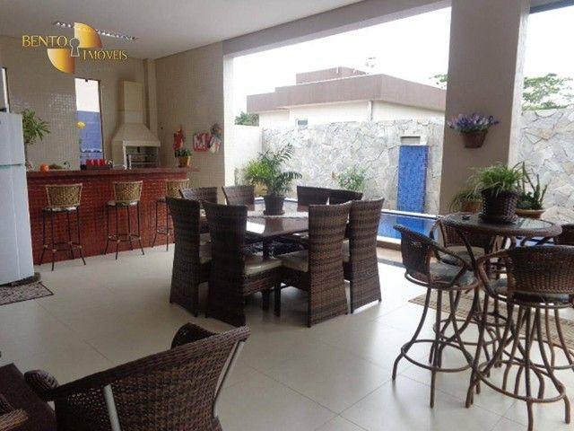 Casa com 5 dormitórios à venda, 490 m² por R$ 2.200.000,00 - Condomínio Florais Cuiabá Res - Foto 15