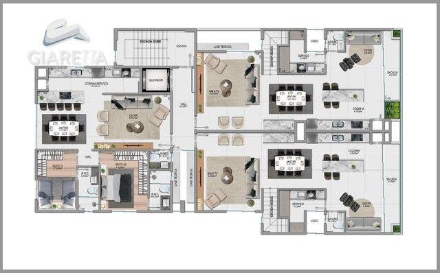 Duplex á venda, JARDIM LA SALLE, TOLEDO - PR - Foto 14