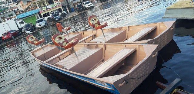 Canoas em alumínio naval  - Foto 6