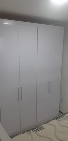 Armário 4 Portas Branco - Novo