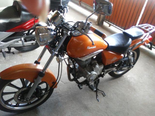 Vendo moto kansas - Foto 2