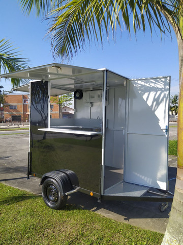 Vendo ou Alugo Trailer Food Truck Lanches - Foto 2