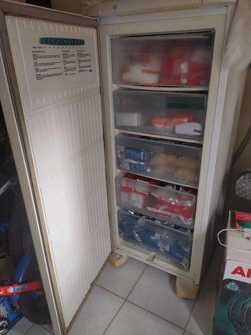 Geladeira - Freezer Vertical e Máquina de Lavar - Foto 6