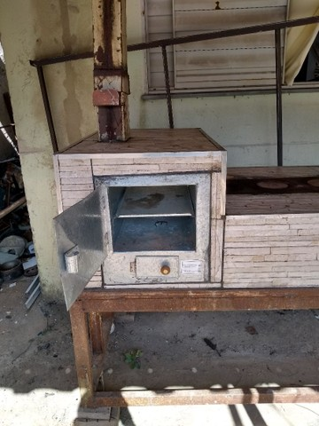 Fogão a lenha e forno  - Foto 5