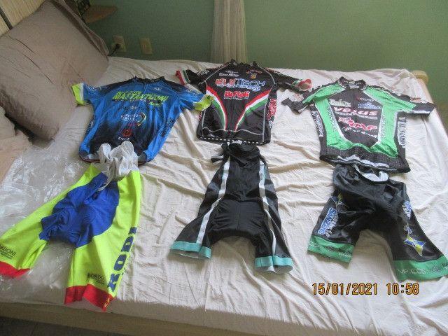 Roupas de ciclismo , tamanho G-M-P boa qualidade - Foto 2