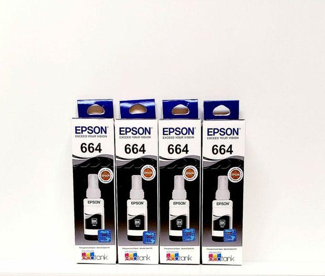 Kit 8 Refil Tinta Epson 664 L380 L455 L495  2b 2m 2c 2y
