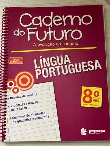 Caderno do futuro 8ºano