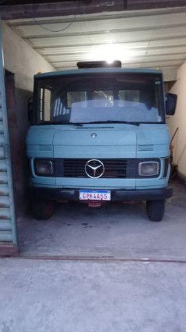 Caminhão Mercedes Benz 3/4 608 E ANO 86/86  - Foto 2