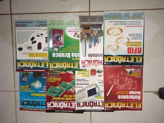Revistas de eletrônica  - Foto 2