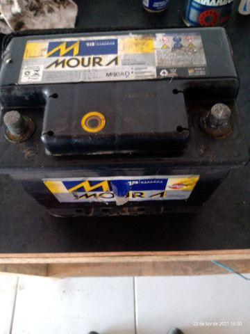 Bateria Moura 60 amperes usada 150$ - Foto 2