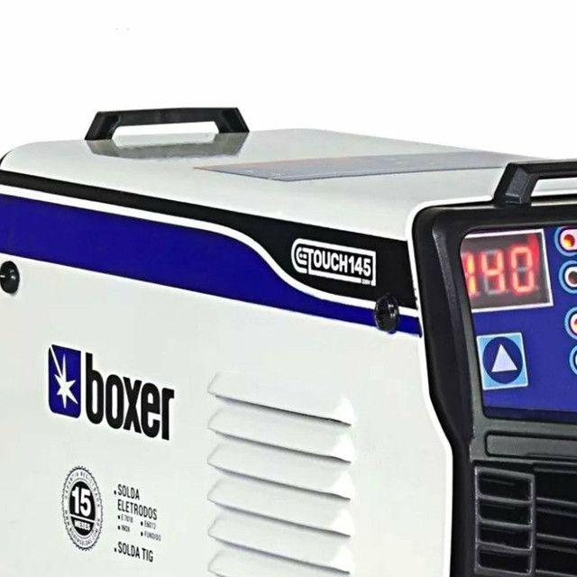 Máquina de Solda Inversora Touch 145 140A - BOXER-1510026<br><br> - Foto 2