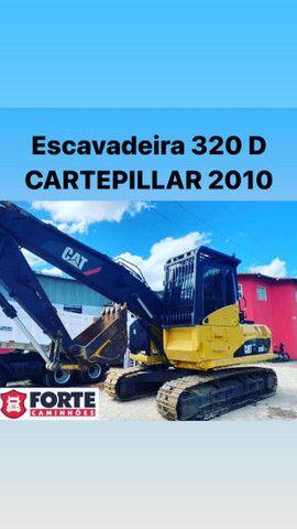 Escavadeira Caterpillar 320D novíssima raridade diferenciado