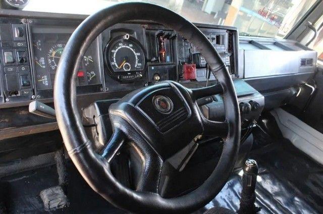 Carreta Caçamba Basculante 27m³ C/ Pneus Scania 112hw 6x2 - - Foto 6