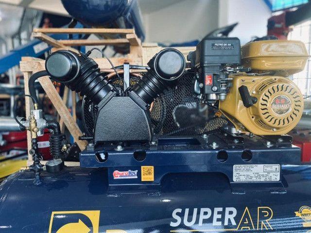 Compressor de Ar Gasolina 15 Pés - Foto 2