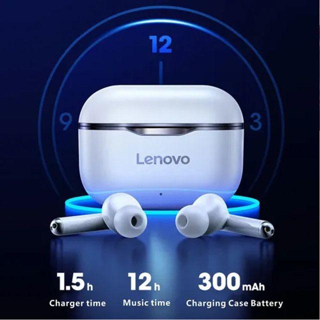 Fone De Ouvido Lenovo LP1 TWS Bluetooth - Lacrado - Foto 4