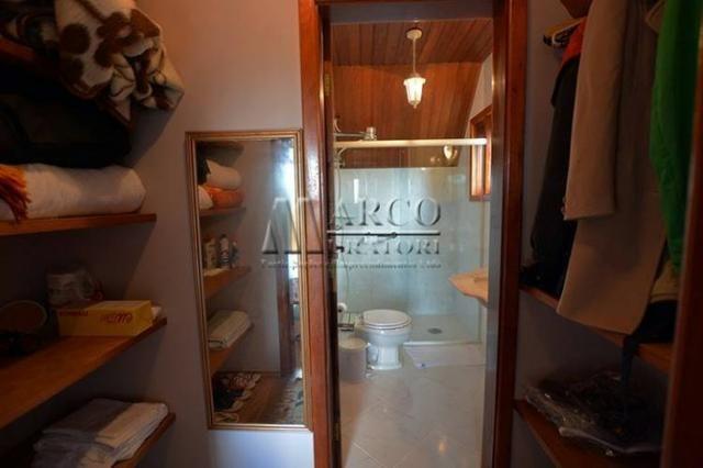 Casa em condomínio , 3 dorm + 3 quartos externos, linda vista com churrasqueira - Foto 13