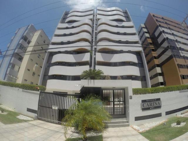 Apartamento no edifício Karina 3/4 na Ponta Verde