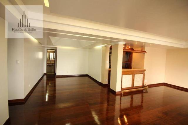 Apartamento 4 quartos, 2 suítes, 220 m2, 2 vagas, para locação, Pituba, Salvador.