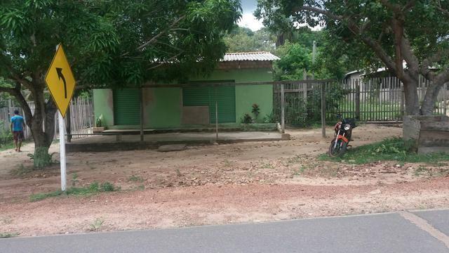 Terreno com casa Comunidade Caranazal