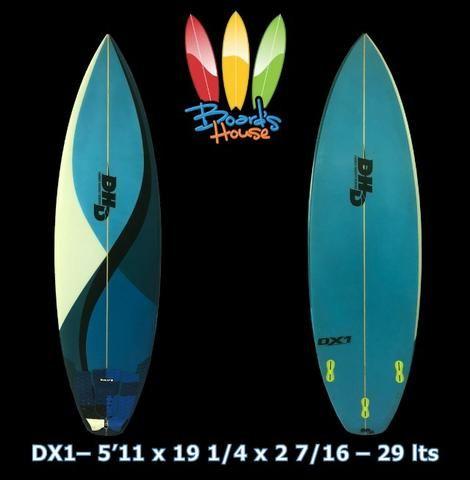 Prancha de surf DHD Dx1 - Usada - Ótimo Estado