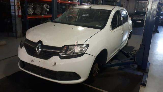 Sucata Renault Logan 2015/16 1.6 106cv Flex - Foto 2