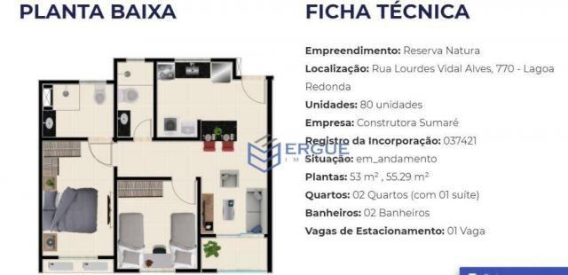 Apartamento residencial à venda, Lagoa Redonda, Fortaleza. - Foto 8