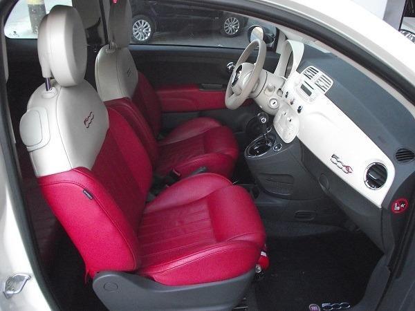 Fiat 500 Cabrio Air 1.4 Automático Conversível 13/14 Branco Cód. 7272 - Foto 15