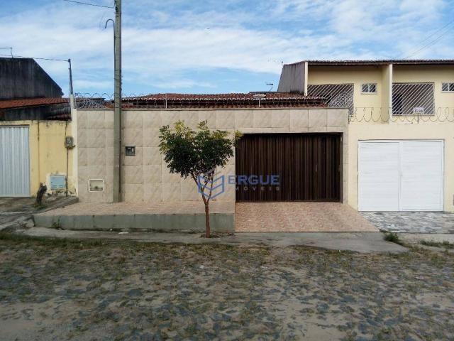 Casa com 3 dormitórios à venda, 141 m² por R$ 350.000,00 - Prefeito José Walter - Fortalez