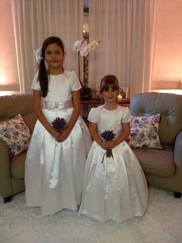 Vestidos Dama De Honra Branco Modelo Exclusivo