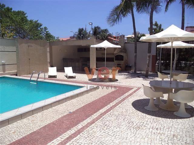 Apartamento com 3 dormitórios para alugar, 112 m² por R$ 1.450/mês - Engenheiro Luciano Ca - Foto 2