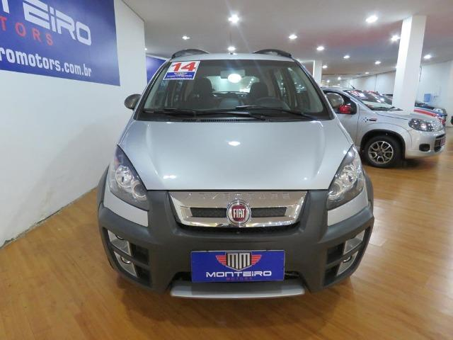 Fiat Idea 1.8 Mpi Adventure 16v Flex 4p Dualogic Automatizado Top de Linha 48.900 Km - Foto 3