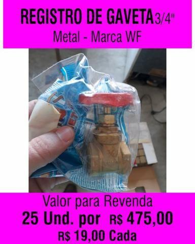 Torneiras, Chuveiro, Registros e Kit para Banheiro - Foto 3