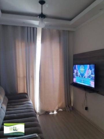 Apartamento com 2 dormitórios à venda, 54 m² por r$ 185.000 - companhia fazenda belém - fr - Foto 4