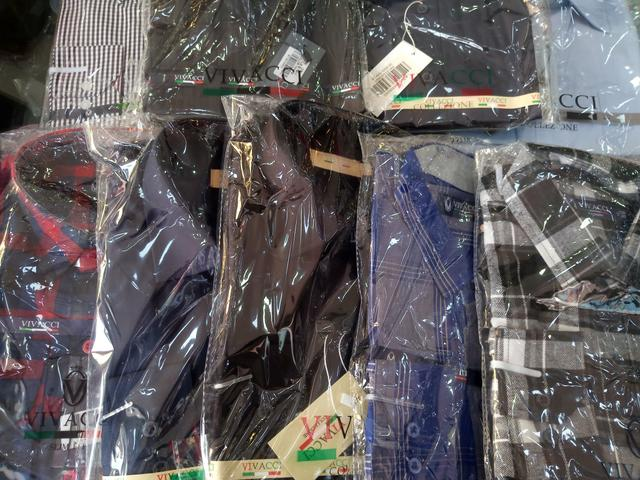 Camisa VIVACCI Atacado - Camisa Social Masculina em Atacado - camisas masculinas slim fit - Foto 2