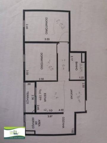 Apartamento com 2 dormitórios à venda, 54 m² por r$ 185.000 - companhia fazenda belém - fr - Foto 13
