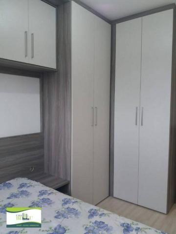 Apartamento com 2 dormitórios à venda, 54 m² por r$ 185.000 - companhia fazenda belém - fr - Foto 8