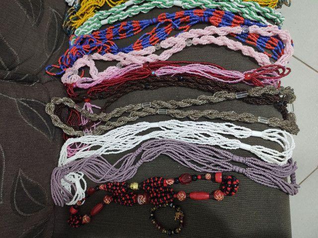 Guias, contas e cordão de orixá umbanda candomblé