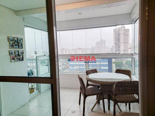 Apartamento com 2 dormitórios à venda, 64 m² por R$ 600.000,00 - José Menino - Santos/SP - Foto 7