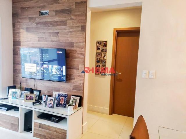 Apartamento com 2 dormitórios à venda, 64 m² por R$ 600.000,00 - José Menino - Santos/SP - Foto 3