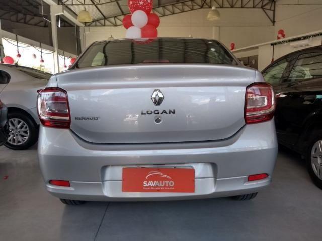 Renault Logan Authentique Flex 1.0 12V 4p - Foto 6